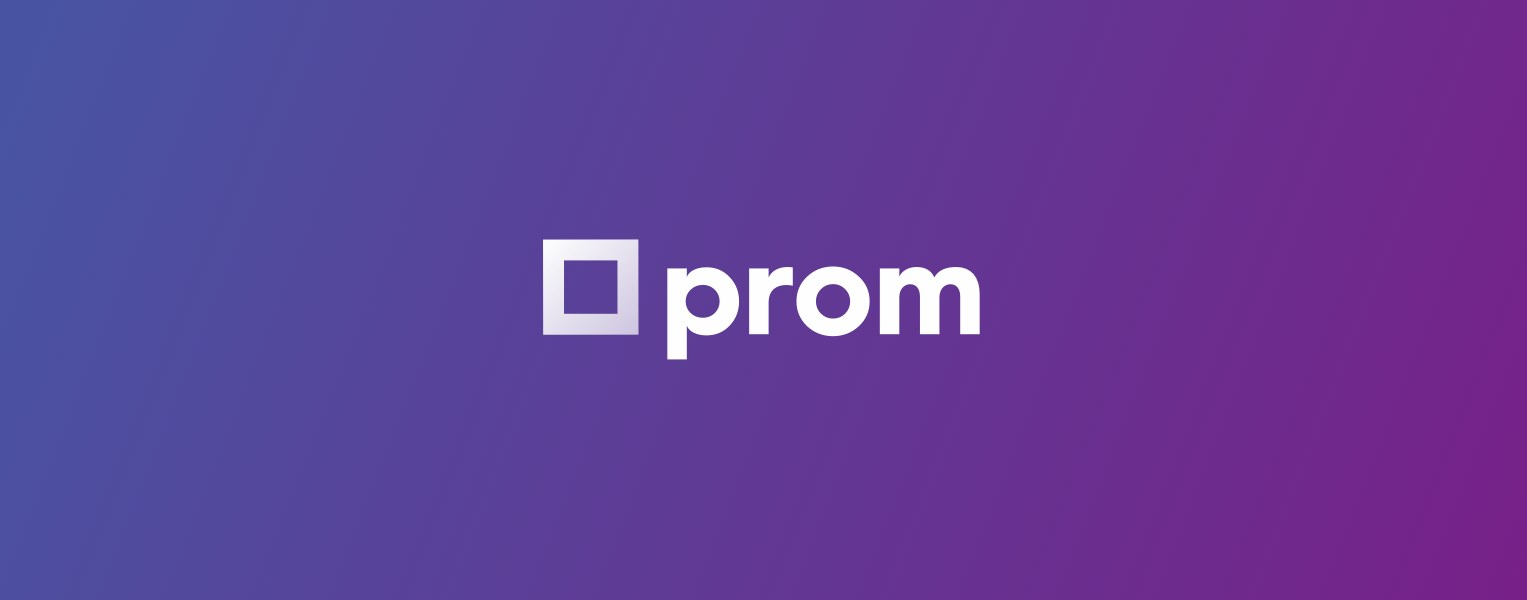 Prom logo for news